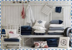 Nautical Look for My Home | Seaside feeling with nautical home decorations