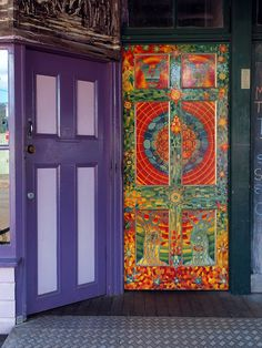 Door of consciousness? - Nimbin, Northern New South Wales