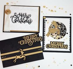 8 pcs TONIC STUDIOS Embossed Christmas Pudding Card Die Cuts Any Colour