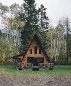 Home Gym Decor Sheds 50 Ideas A Frame House Plans, A Frame Cabin, Tiny House Cabin, Cabin Homes, Cabin Design, Tiny House Design, Cabins In The Woods, House In The Woods, Shed Decor