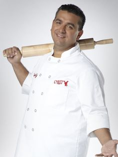 Buddy Valastro..love to watch him and cake boss