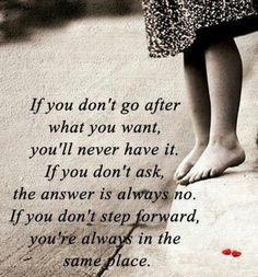 If you don't step forward, you're always in the same place! #motivationmonday #bestfootforward  www.yourfootdocs.com