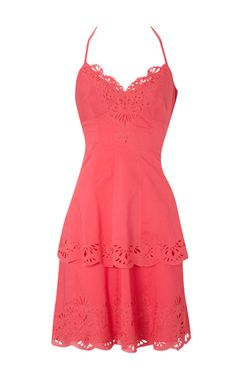 Karen Millen sun dress....would be so cute with my brown Ariat Heritage R-toe boots!