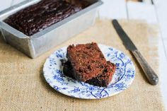 Chocolate Zucchini Bread & Simple Chocolate Frosting