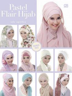 Pastel Flair Hijab + Bonus DVD by Ade Aprilia