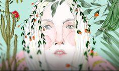Ilustración, Cristina de Luisa Fernanda Castellanos  Leer más: http://www.colectivobicicleta.com/2016/04/ilustracion-de-luisa-castellanos.html