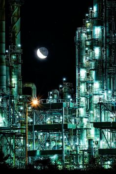 Industrial Photography, Dark Photography, Scary Bridges, Oil Rig Jobs, Highway To Hell, Top Pic, Industrial Architecture, Story Setting, Ex Machina