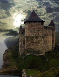 ˚River Castle - Kunetice, Czech Republic