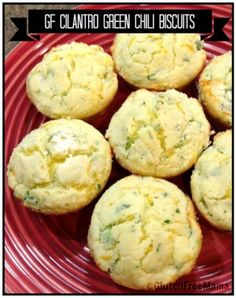 Preheat oven to 375 degrees Lightly spray muffin tin with cooking spray In a medium bowl combine flour xanthan gum salt baking powder and garlic powder Mix well Add green chilies green onions cilantro eggs and cheese Pour in milk Mix by hand until all ingredients are mixed in Using a 2 inch scoop scoop dough into each muffin cup Bake for 15-16 minutes They will start to get golden brown and when touched will bounce back Notes Dairy free Use dairy free margarine and milk and a dairy free…