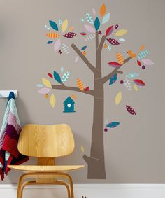 Look what I found on #zulily! Tree Stick-On Wall Art #zulilyfinds