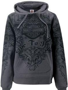Harley Davidson Womens Tribal Wings All Over Print Pullover Hoodie Sweatshirt | eBay