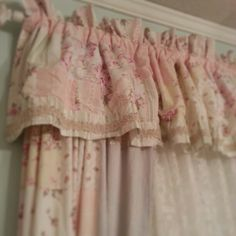 strawberry ice cream colored curtains love