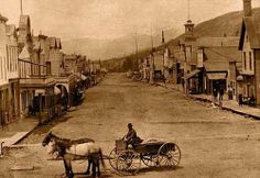 Main Street ~ Breckenridge Colorado ~ 1895