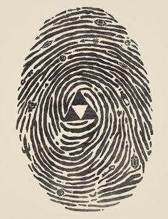 "My fingerprints after 6 consecutive hours of ""Legend of Zelda: Twilight Princess"" #just #hyrule #things"