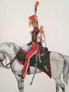 Trompette de Artillerie a cheval, Duchè de Varsovie, 1809