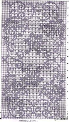 Схемы филейных салфеток крючком - Ярмарка Мастеров - ручная работа, handmade