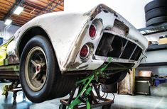 Ford GT40 Mk I. Barn find in Southern California garage.