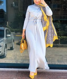 Muslim Women Fashion, Modern Hijab Fashion, Abaya Fashion, Modest Fashion, Women's Fashion Dresses, Hijab Evening Dress, Hijab Dress Party, Hijab Style Dress, Hijab Chic
