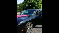 New Dodge Challenger with 6.1 Hemi, 425 horsepower engine. Over-the-hill...