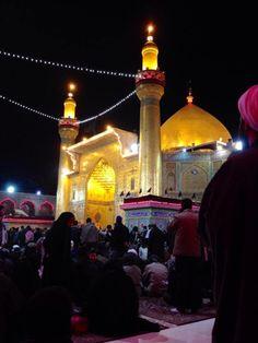 Marqad Al İmam Ali (a.s) Najafi Ashraf. İraq
