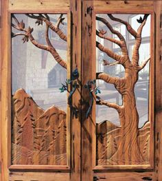 24 Hand carved wooden door designing ideas (These doors were imported by someone into InWorldz & S100 #Steel #Security #Doors #Entrance #White #Wood #Finish ... Pezcame.Com