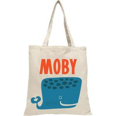 Moby Dick Tote, $17, now featured on Fab.