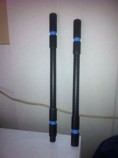 DIY Nightwing Escrima Sticks