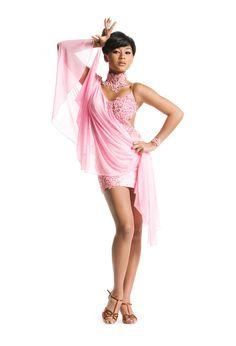 This Pink Latin Ballroom Dress is waiting for you at www.ballroomblingdance.com