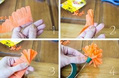 How To Make Construction Paper Flowers Step By Step Make these different types