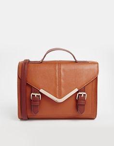 ASOS V Bar Satchel Bag