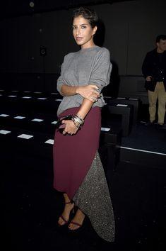 Princess Deena Aljuhani Abdulaziz at Moncler Gamme Rouge - the skirt