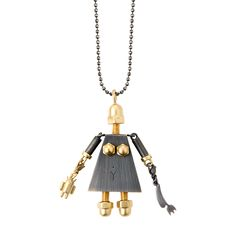 Necklace from MACHINY collection by Anna Orska.