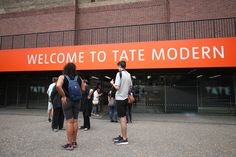 Visitors outside the Tate Modern as the gallery closed earlier today due to an incident in which a teenager has been arrested after a child fell from height and was taken to hospital from the gallery in central London by air ambulance. via @AOL_Lifestyle