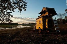 Roof tents - no more snakes or scorpions!