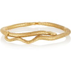 Aurélie Bidermann Snake gold-plated choker ($1,005) ❤ liked on Polyvore featuring jewelry, necklaces, choker jewelry, gold plated jewellery, gold plated jewelry, hand crafted jewelry and snake jewelry