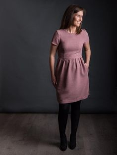 With a fitted bodice, gathered skirt and inner pockets, The Day Dress will be one of the prettiest dresses in your wardrobe. With…