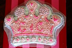 princess crown cake... Princess Crown Cake, Baby, Babys, Infant, Babies, Infants, Kid, Child