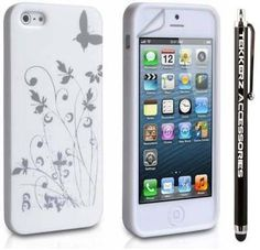 #iphone5 #white #butterfly #pretty #love