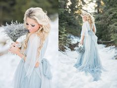 """With Disney's Frozen-inspired wedding dresses found its way onto the bridal runway, we figured it's the right season to feature some of the most beautiful wedding dresses that share the similar """"ice queen"""" look! From icy blue hues, silver sparkles, to snowflake-inspired lace details, these wedding dresses are ready to make your fairy tale dream …"""