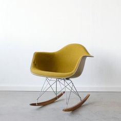 Eames chair rocker. They have these at Fresno state
