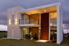 20 Fachadas de casas modernas com linhas retas - veja modelos maravilhosos! - Decor Salteado - Blog de Decoração e Arquitetura