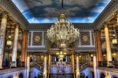 The Stanley Theatre....Assembly Hall of Jehovah's Witnesses. Love this building, so beautiful.