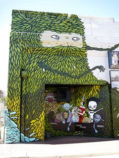 Perth Street Art, at 89 Milligan Street, Perth, Australia