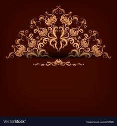 Elegant background with lace ornament vector image on VectorStock Wedding Photo Background, Wedding Invitation Background, Red Wedding Invitations, Background Vintage, Background Patterns, Textured Background, Creative Poster Design, Creative Posters, Wedding Album