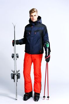 $96.00 WHS Men's Waterproof Mountain Jacket Windproof Ski Jacket Warm Winter Coat