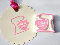 Home made Mixer stamp - JapaneseRubberStamps