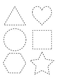Preschool Shape Worksheets Star Tracing preschool tracing shapes worksheets for preschoolers pdf worksheet ideas best coloring pages 3 Year Old Activities, Toddler Learning Activities, Educational Activities, Book Activities, Preschool Activities, Children Activities, Preschool Books, Learning Skills, Learning Shapes