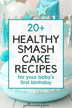 20 EASY healthy smash cake recipes for your baby's first birthday. Want a healthy birthday cake for your baby? Check out these awesome recipes for paleo, organic, gluten-free, dairy-free, allergy-friendly smash cakes for your baby's birthday. | Smash cake girl | smash cake boy | smash cake DIY #firstbirthday #cakesmash Baby First Cake, Smash Cake First Birthday, 1st Birthday Party Favors, Baby Cake Smash, Smash Cakes, Birthday Themes For Boys, Baby Boy First Birthday, Birthday Cake Girls, Smash Cake Recipes