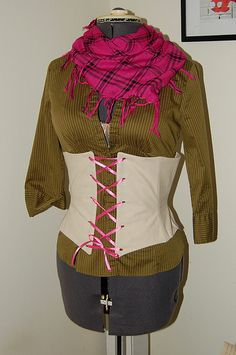 DIY Custom Fit Corset Pattern & Link to Tutorial - UPDATED: Part 2 Added! - CLOTHING