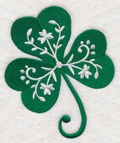 Add the perfect hint of Irish charm to any project with this detailed shamrock. Great for St. Patrick's Day décor, too. Download
